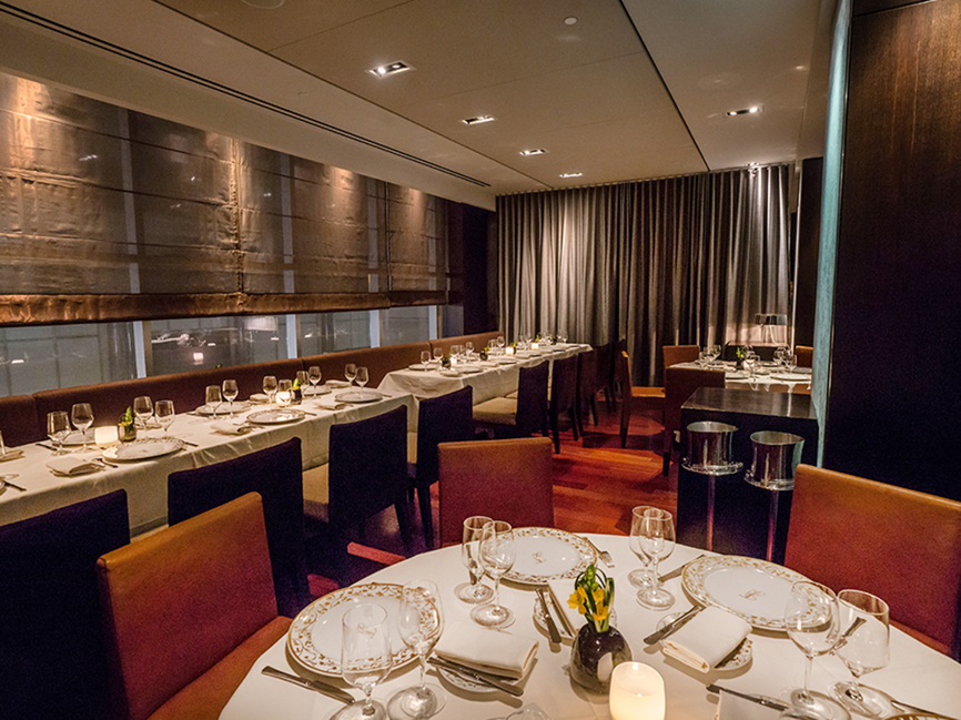 Private dining midtown private dining nyc events space for Best private dining rooms midtown